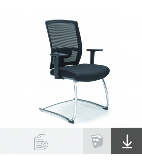 Cadeira Fixa Marelli - 1601 Pro-fit