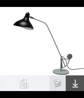 Luminária de mesa Mantis - Lampe Gras - A partir de R$6.400