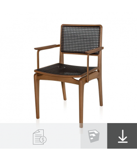 Cadeira Rio com Braço - A partir de R$2.355
