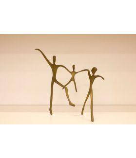 Escultura Ciranda - Pais e Filho